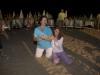 Distesi in spiaggia alla sera