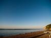 Tramonto Spiaggia con mare calmo