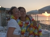 Patry ed Erika al tramonto